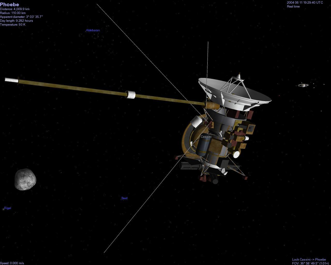 Kerberos Moon Of Plluto: Terriers Celestia Cassini Phoebe
